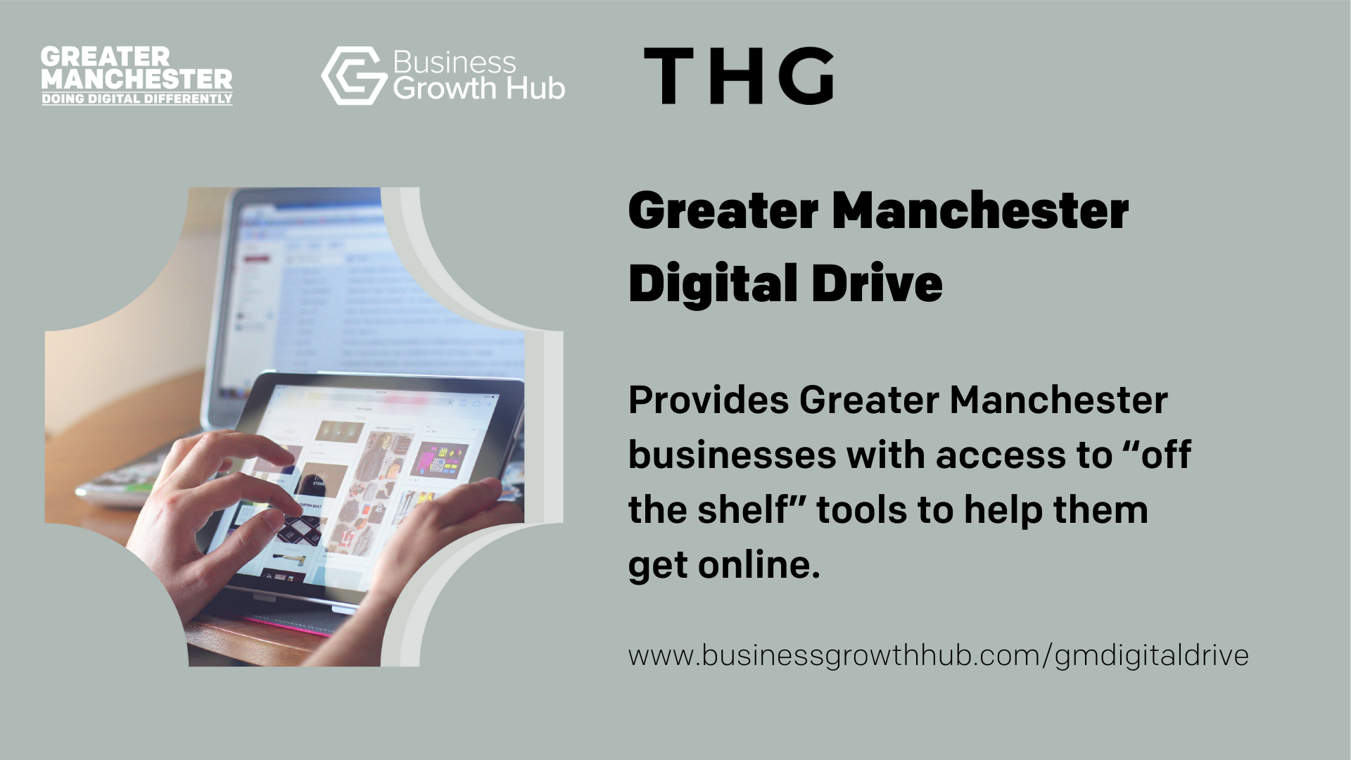 Greater Manchester Digital Drive graphic