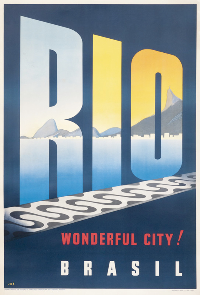 Poster advertisement for Rio