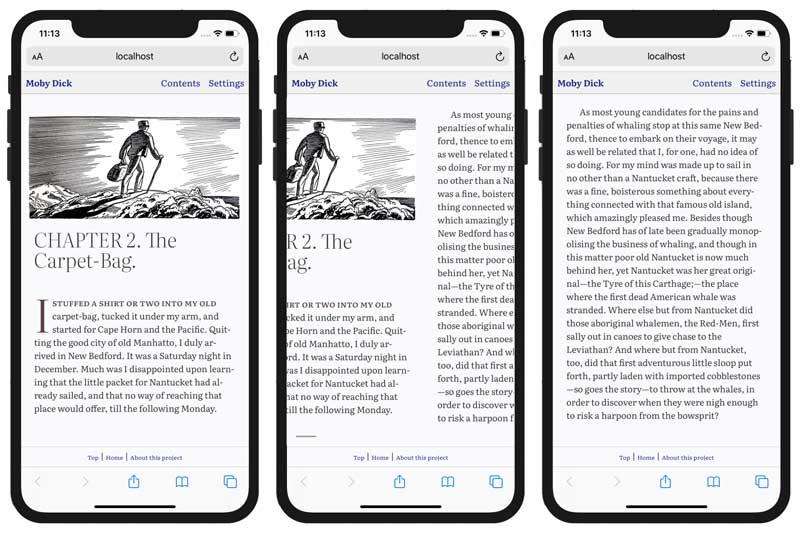 Swiping screens in iOS