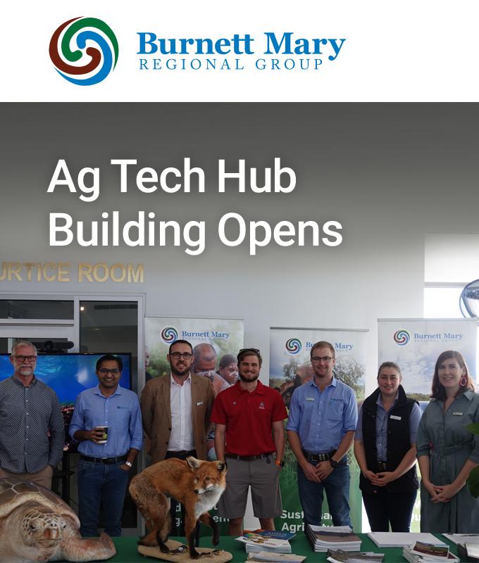 Ag Tech Hub Building Opens