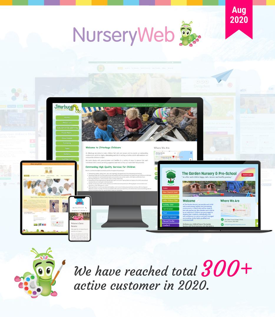 NurseryWeb website design