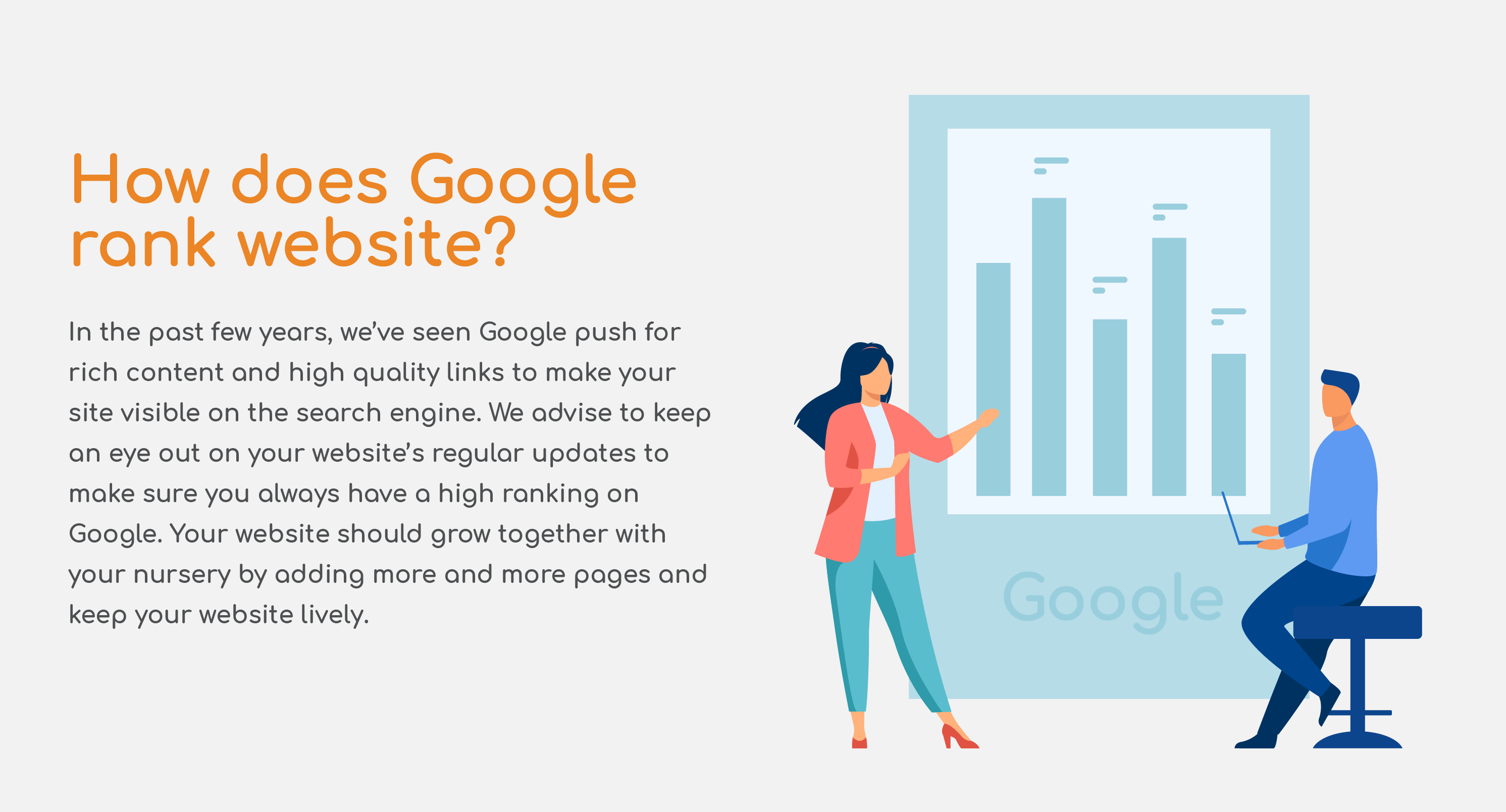 How does Google rank your website?