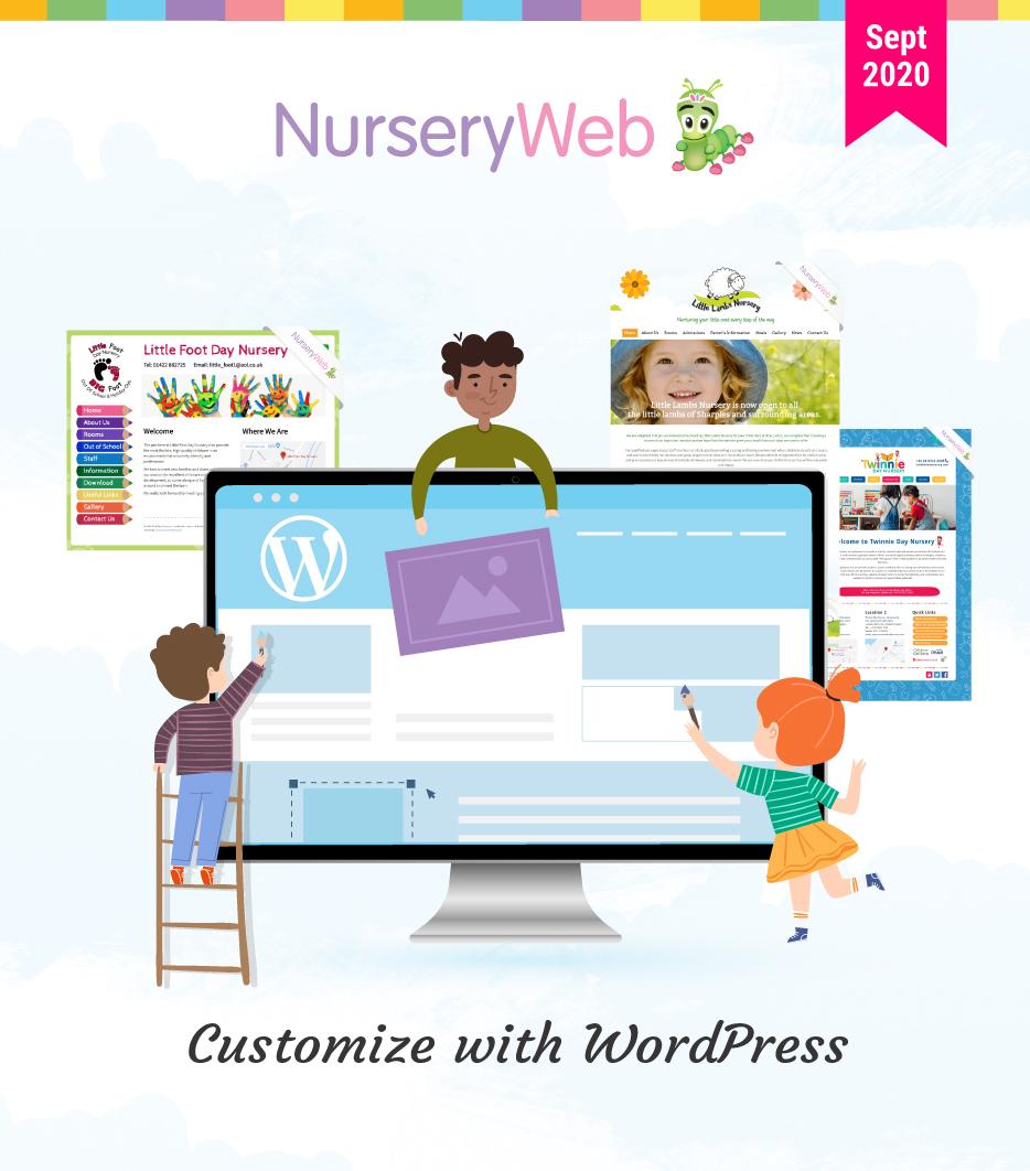 Customize with WordPress