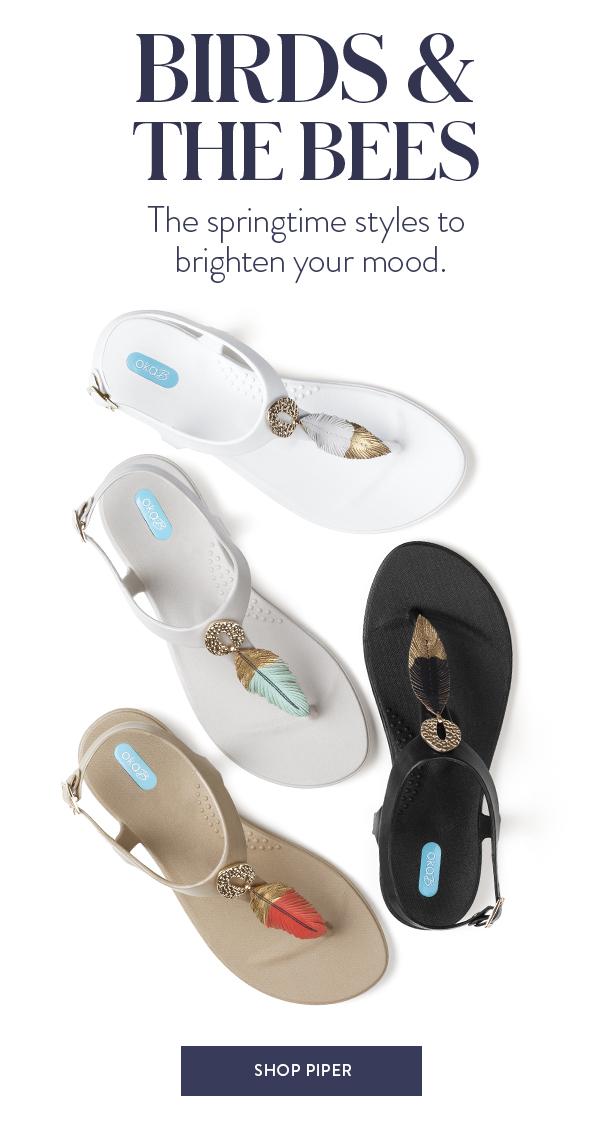 Oka-B 2020 Piper T Strap Sandals