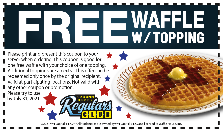 Waffle House Coupon