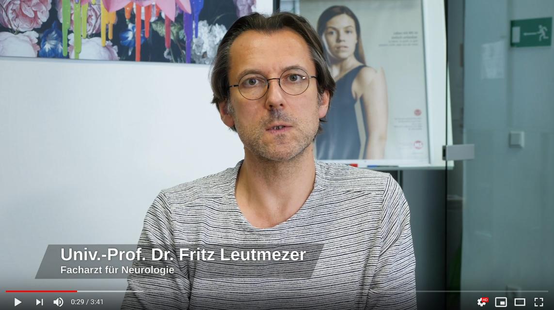 Standbild Video mit Univ. Prof. Dr. Fritz Leutmezer