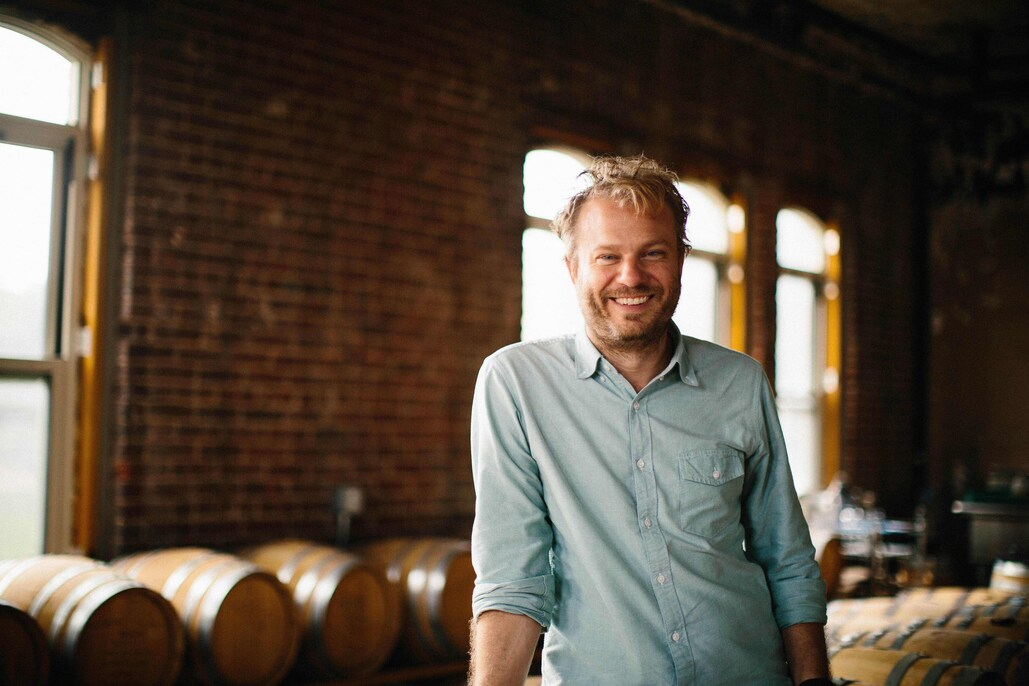 Colin in their Brooklyn Navy Yard Distillery, © Julie GG Koch, Hopskoch Photography