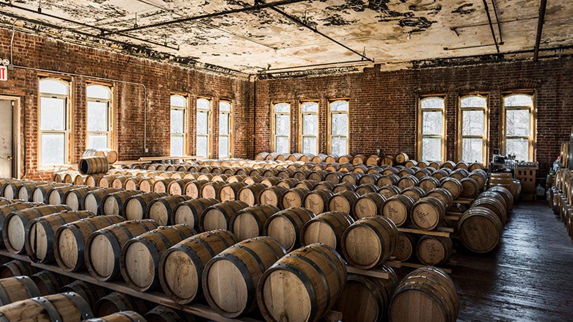 Inside the distillery © Kings County Distillery