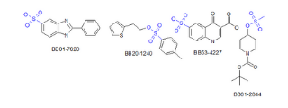Sulfonic Acids and Esters (224 compounds)