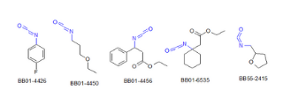 Isocyanates (169 compounds)