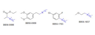 Isonitriles (74 compounds)