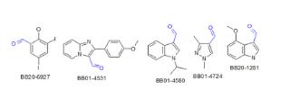 Aldehydes (3,621 compounds)