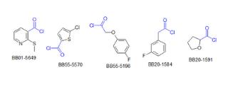 Carboxylic Acids Halides (1,038 compounds)