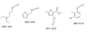 Isothiocyanates (250 compounds)