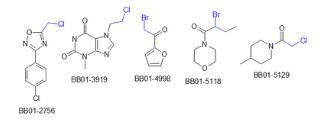 Alkylhalides (3,896 compounds)