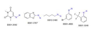 Hydrazines (578 compounds)