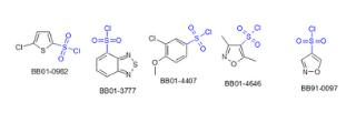 Sulfonic acids Halides (345 compounds)