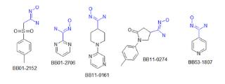 Amidoximes (204 compounds)