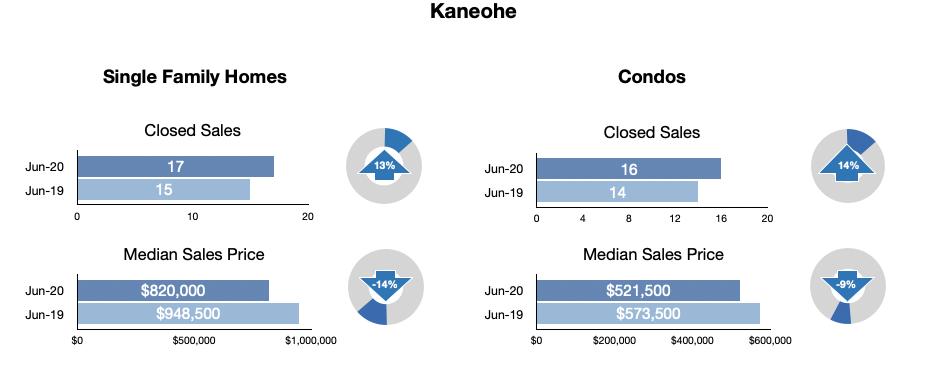 Kaneohe Statistics June 2020