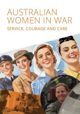 Front cover of the educational book Australian Women in War: Service, Courage and Care