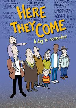 Front cover of the book Here They Come: A Day to Remember