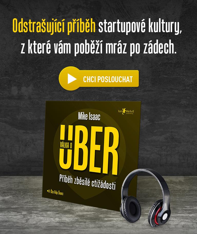 Obálka audioknihy Válka o Uber