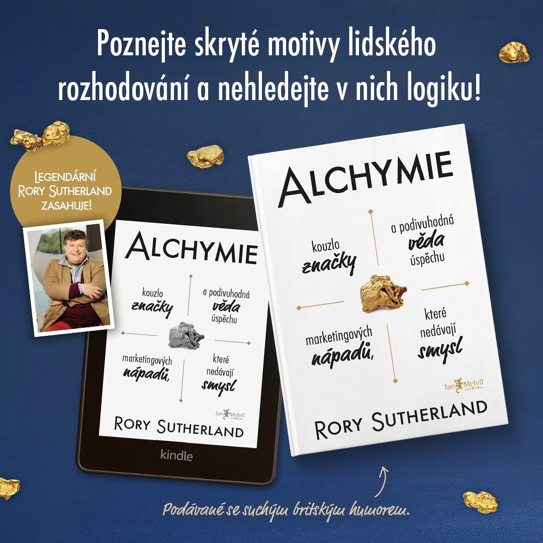 Novinka – kniha Alchymie