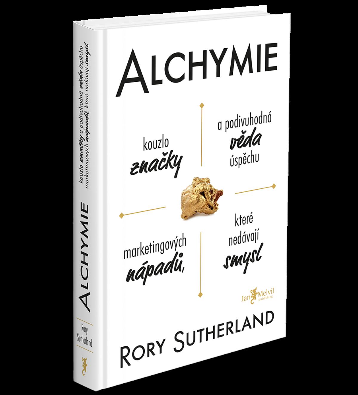 Obálka knihy Alchymie