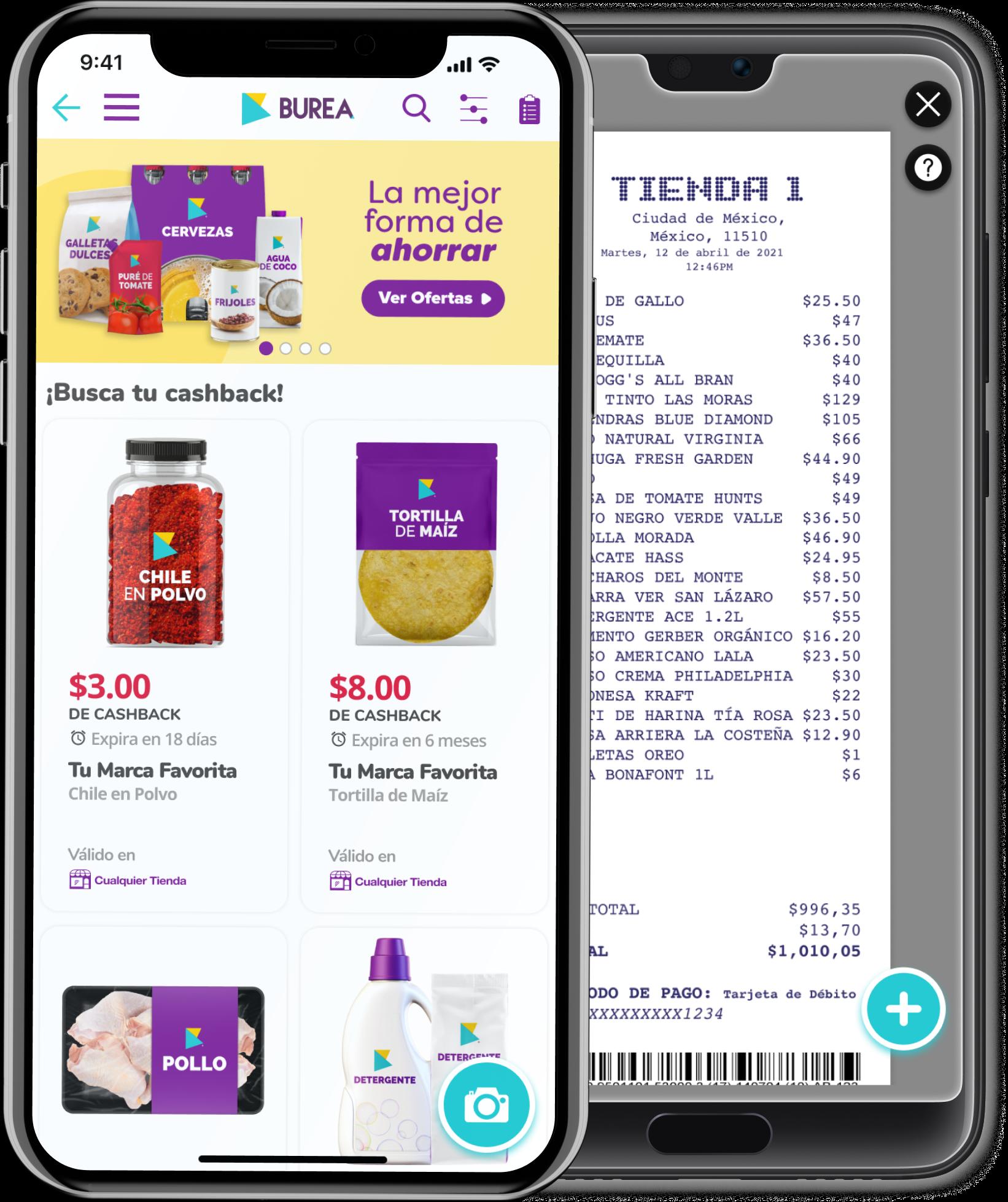 Llega a México BUREA, la app gratuita que te da recompensas por tus compras en establecimientos
