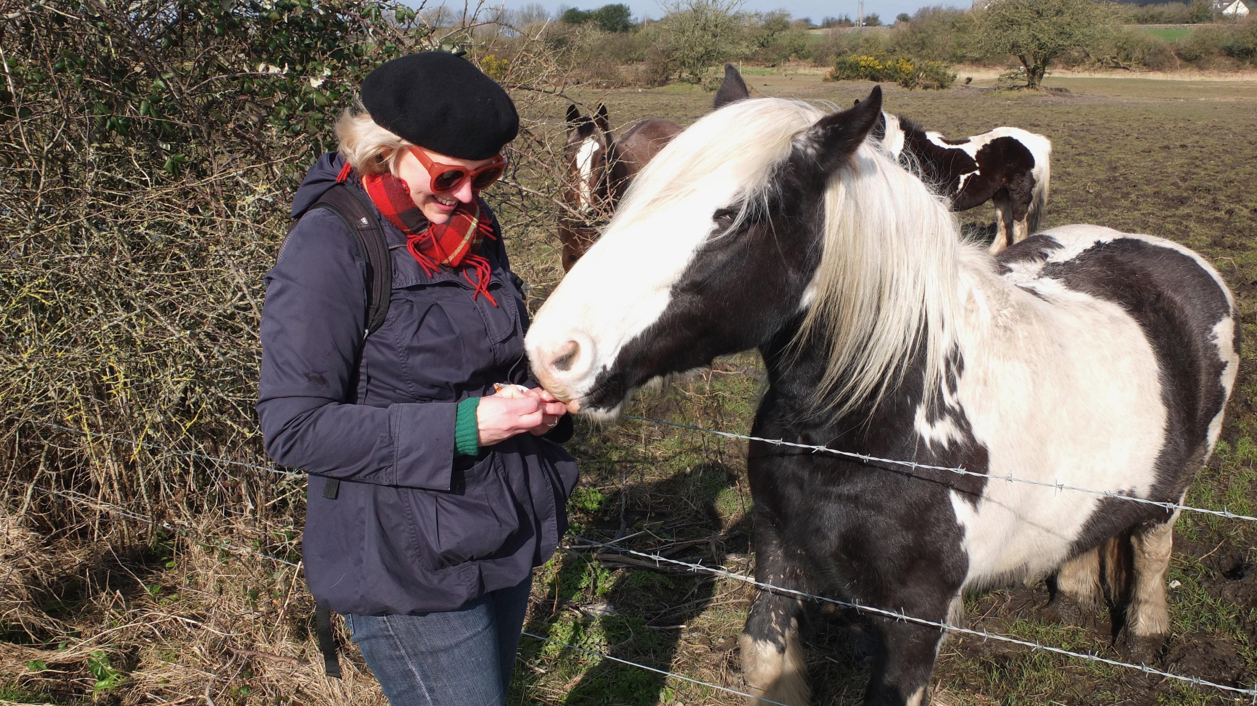 Jeni with horse