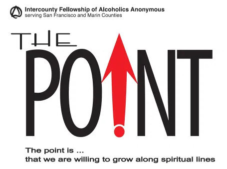 The Point is...that we are willing to grow along spiritual lines