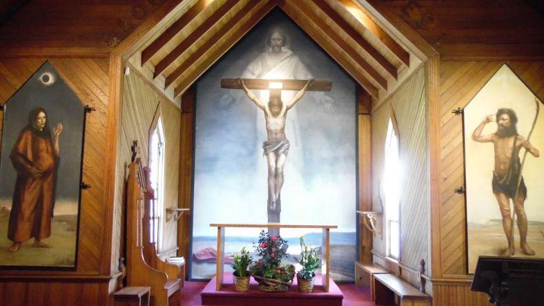 Ben Long frescos in N.C.
