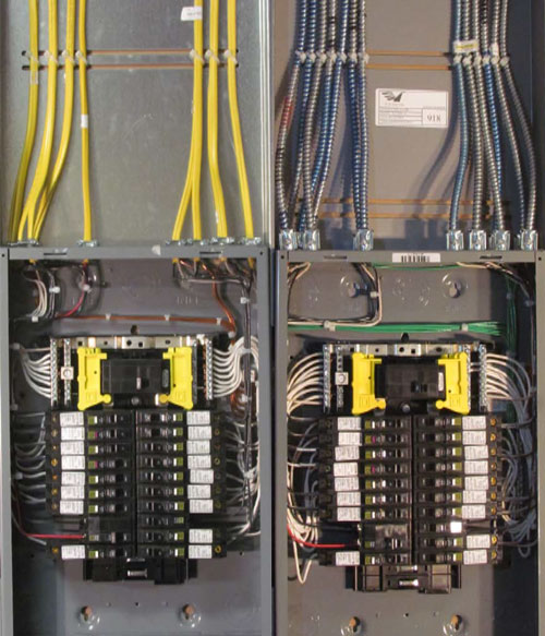 Pre-Wired Load Centers