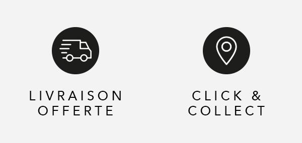 Livraison offerte - Click & collect