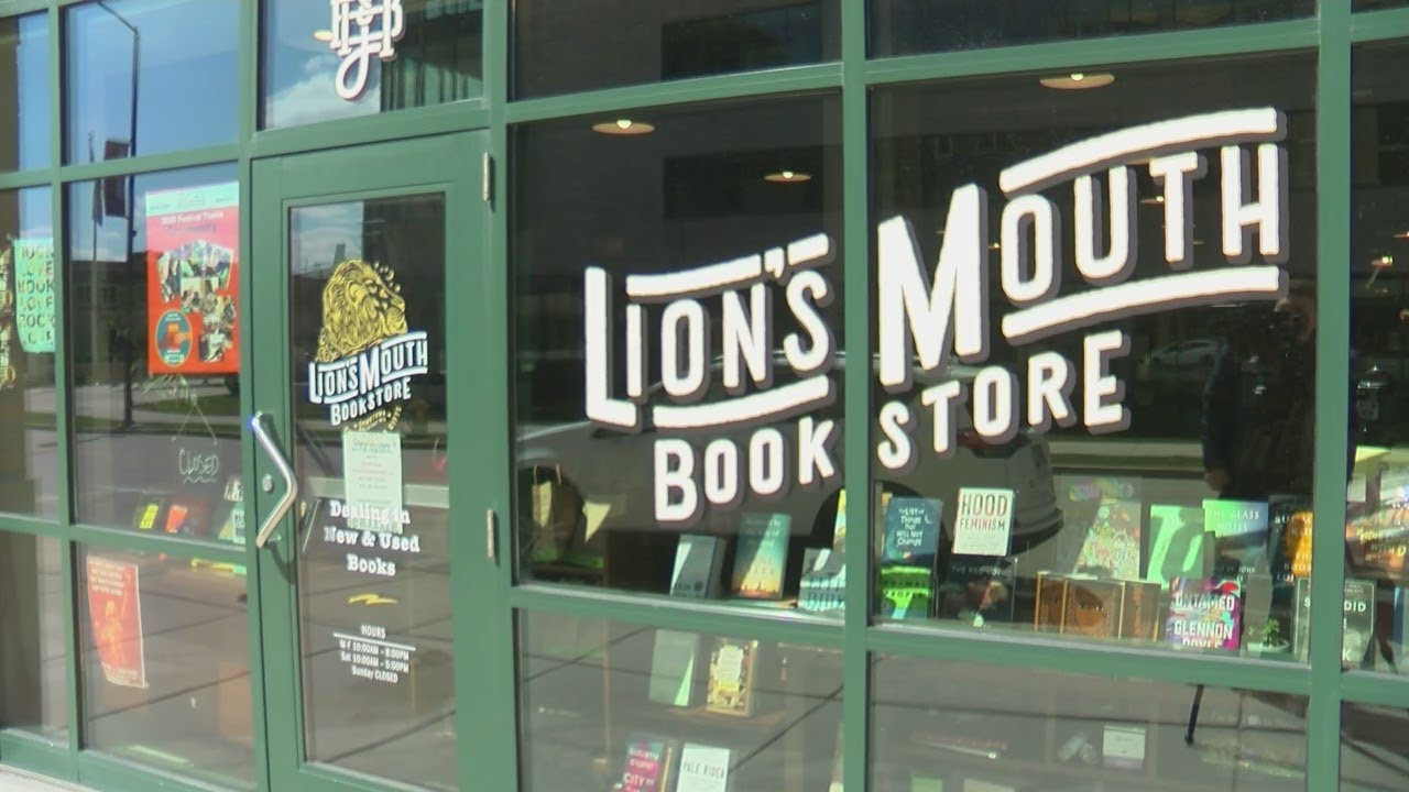 Lion's Mouth store front
