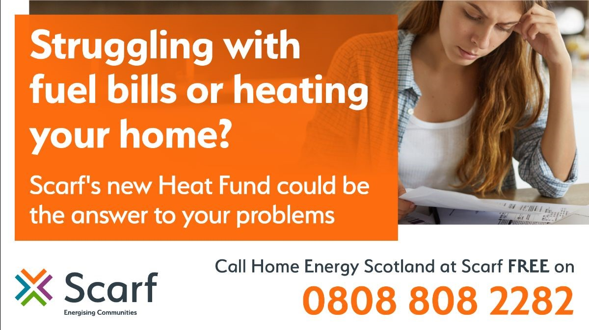 Scarf's new Heat Fund at 0808 808 2282