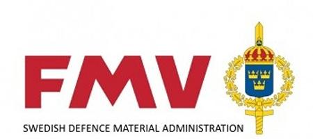Swedish Defence Material Administration (FMV) Logo