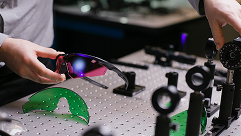 Testing Ballistic Laser Protective Eyewear