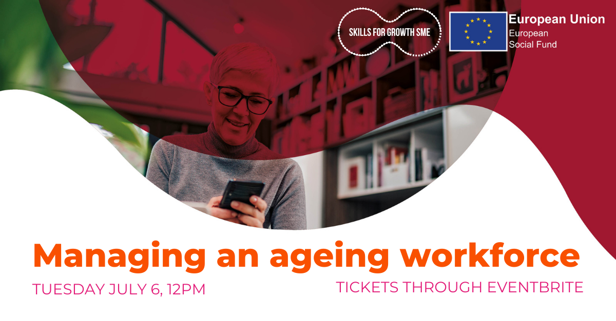 """""""Managing an ageing workforce. Tuesday 6th July, 12pm."""""""