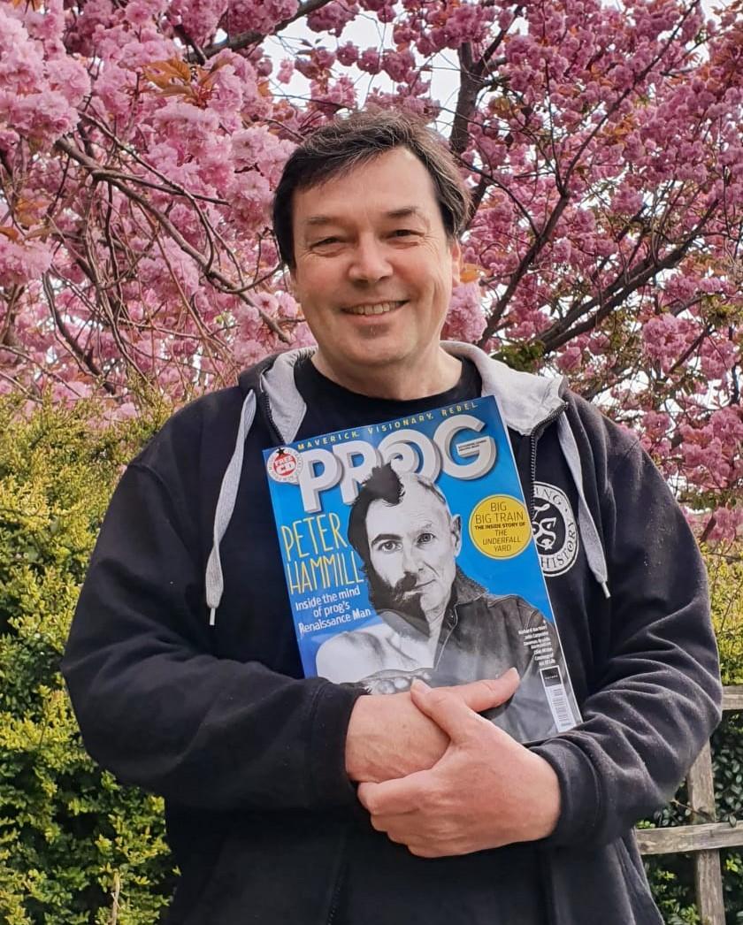 John with Prog Magazine