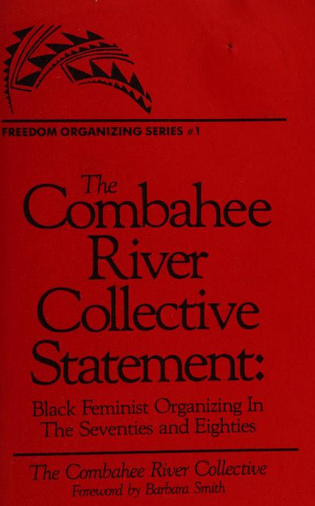 Cover of the Combahee river collective statement