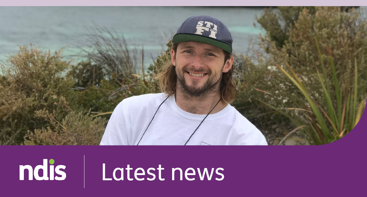 NDIS | Latest news with a picture of Steve smiling, behind him is the beach
