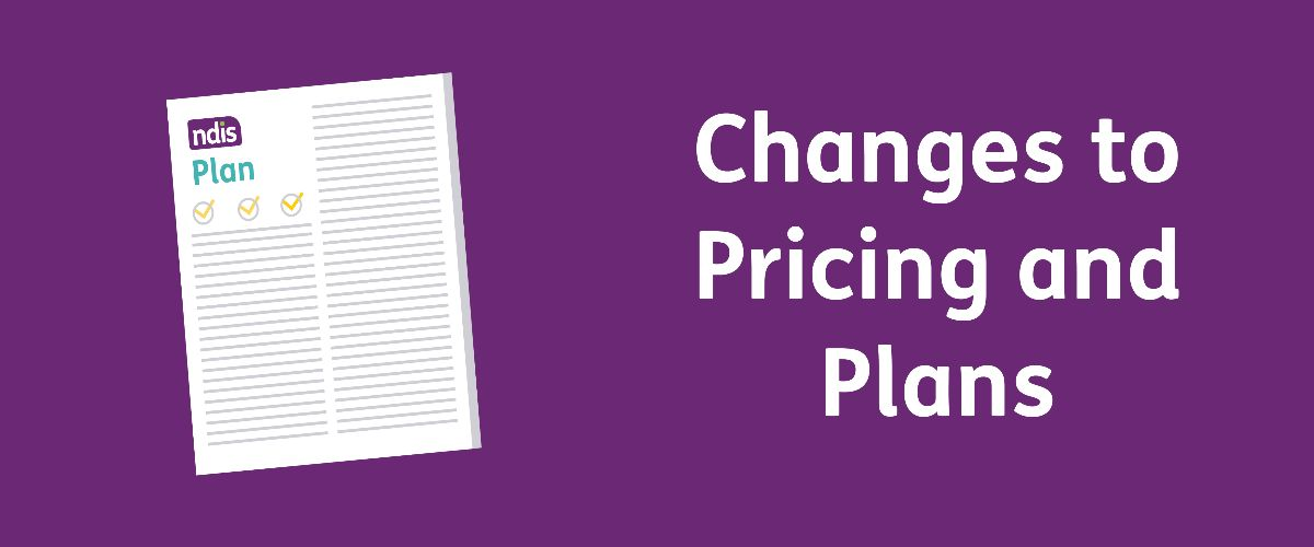 Changes to Pricing and Plans