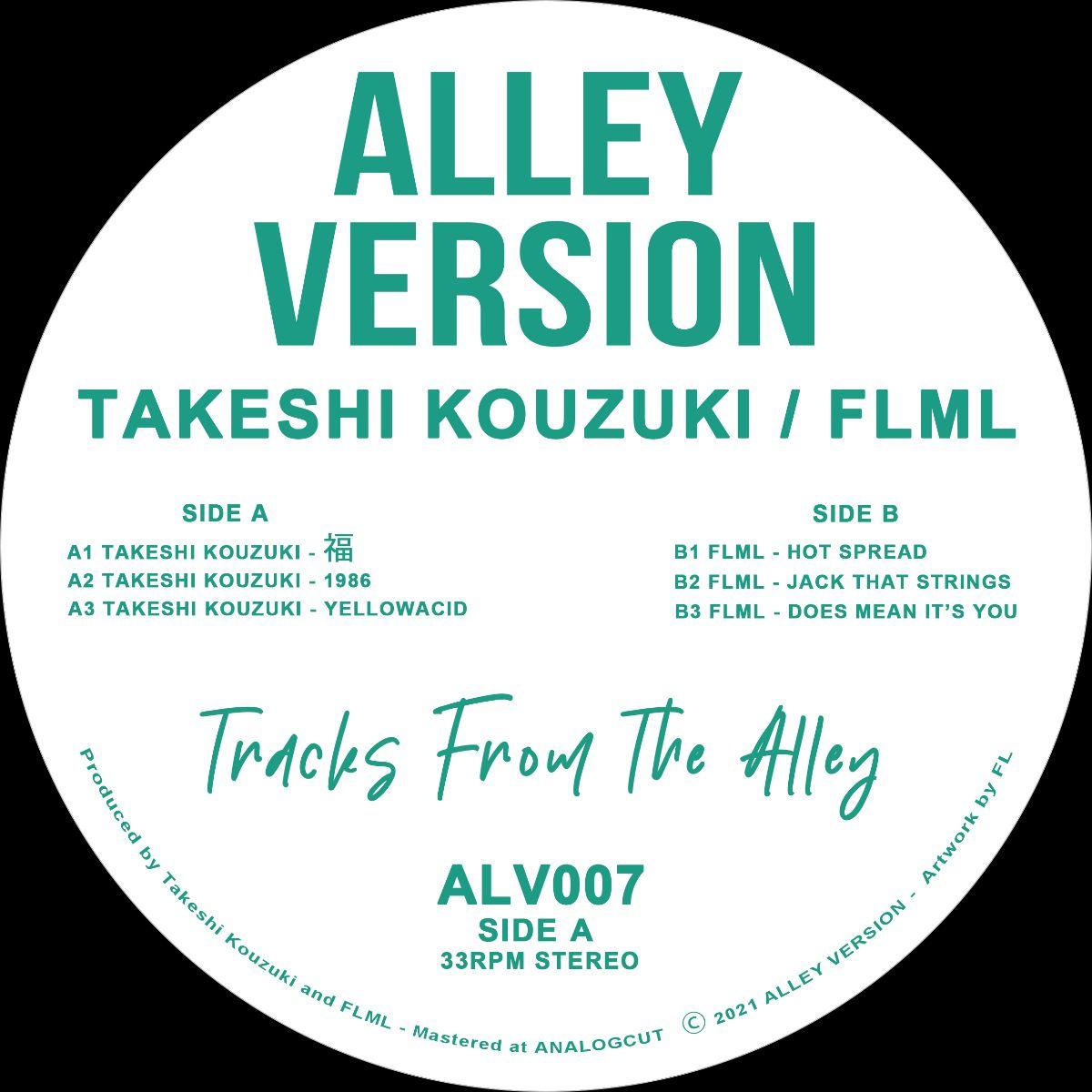 Takeshi Kouzuki / FLML - Tracks From The Alley
