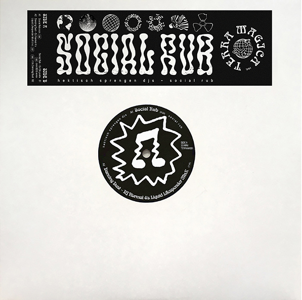 Hektisch Sprengen DJ's - Social Rub w/ DJ Normal 4 & DJ Chrysalis Remixes