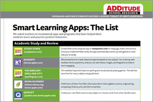 Download: Teacher-Approved Apps & Tools for School