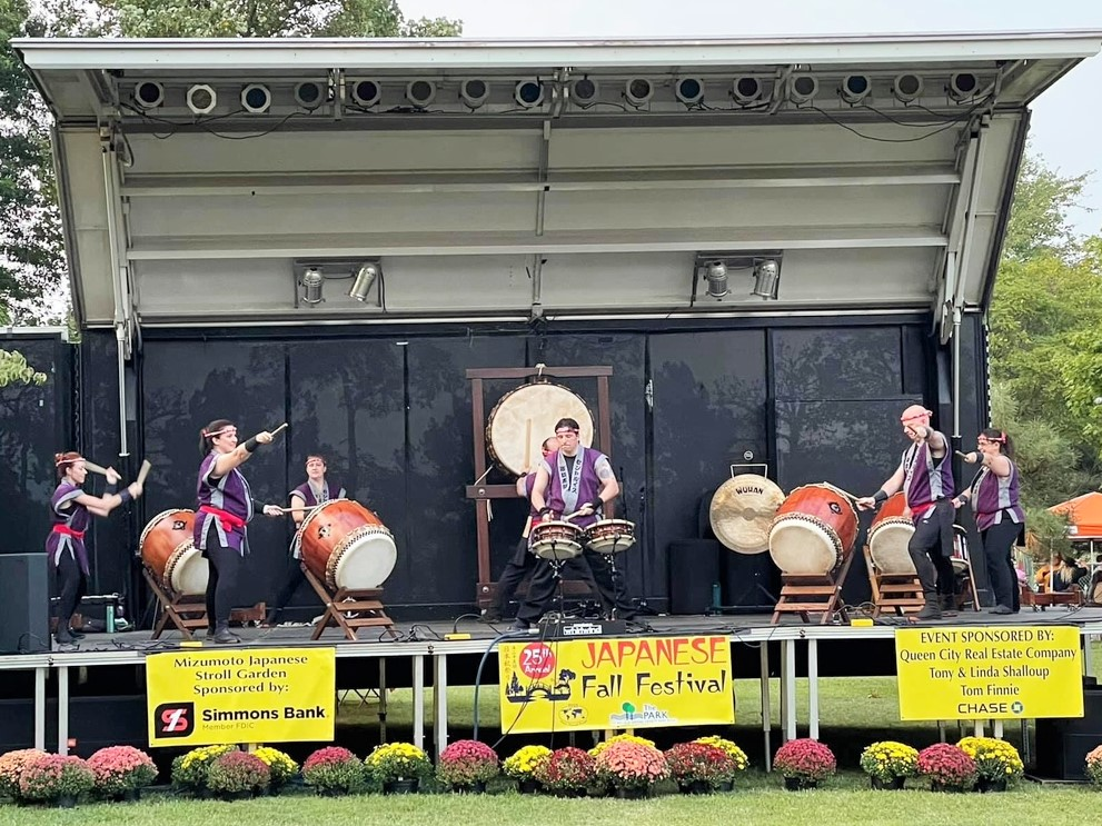 Performing Drive at Springfield's Japanese Fall Festival