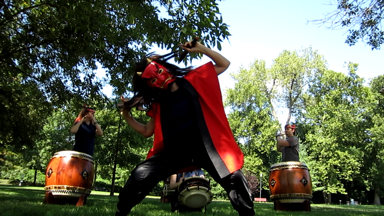 Oni dance recorded at Vago Park