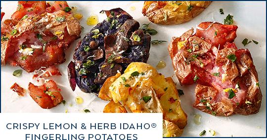 Crispy Lemon and Herb Idaho® Fingerling Potatoes