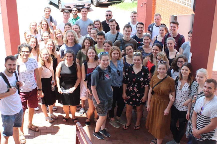 DUT'S INTERNATIONAL EXCHANGE STUDENTS ORIENTATION, A GREAT SUCCESS